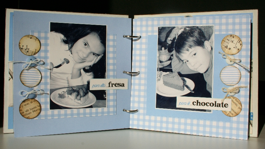 Como decorar un album de fotos por dentro imagui - Como decorar un album de fotos ...