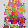 Buquete de flores y chupachups - Flower bouquete