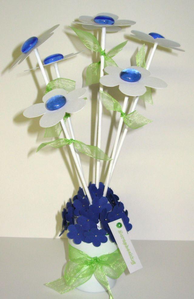 Flor azula