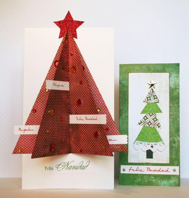 tarjeta navidad - Tarjeta De Navidad En 3d