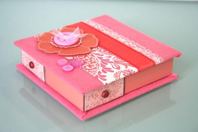 Otros cajas de f sforos decoradas altered matchbox - Caja decorada con fotos ...