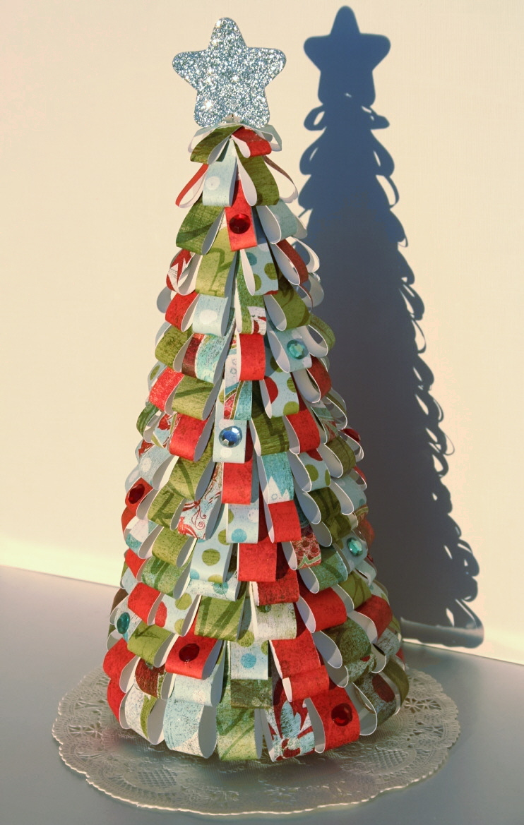 Rboles rboles y m s rboles de navidad memorias de - Arboles de navidad de papel ...