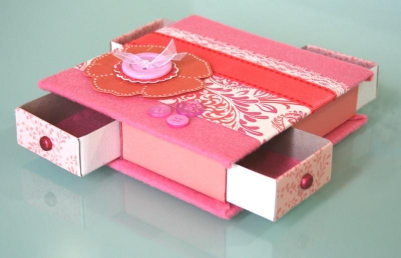 Manualidades Bonitas Y Secillas Para Chicas Parte2: Cajas De Fósforos Decoradas