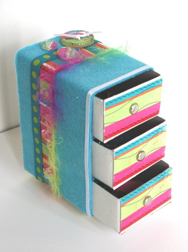 M s cajas de f sforos decoradas memorias de papel - Manualidades cajas decoradas ...